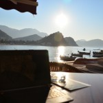 3 Morning view at the Wlan Marina