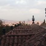 1-Spaziergang-im-Fundacio-Miro-mein-erster-blick-auf-die-sagrada-familia