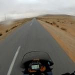 2 same latitude like Canary islands - raining!