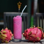 Dragon fruit and Dragon fruit shake - yummy!