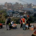 Kathmandu in the morning