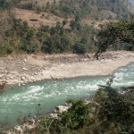 Narayani river home of Mahseer and Goonch