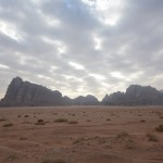 Wadi Rum in the morning
