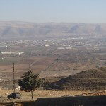 Bekan Valley -  Syrian Border is not far away in the hills
