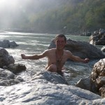 bath in the Ganga at Rishikesh (India III)